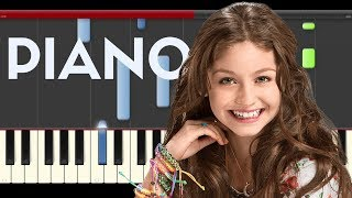 Soy Luna Solo para Ti Piano Midi tutorial Sheet app Cover Karaoke