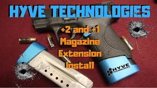 HYVE TECHNOLOGIES | M&P SHIELD 9MM | Magazine Base Plate Extensions
