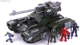 Mega Bloks Halo Scorpion's Sting review!
