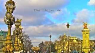 NE ME QUITTE PAS by Jacques Brel - Paris, France