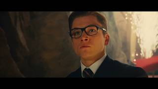 Kingsman: The Secret Service - Eggsy vs Gazelle [HD]