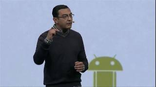 Google I/O 2010 - Keynote Day 2  Android Demo, pt. 1