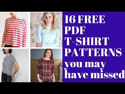 Xxx Mp4 16 Free T Shirt Sewing Patterns You May Have Missed 3gp Sex