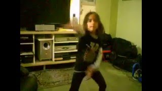 Sabrina dances to apple bottom jeans 1