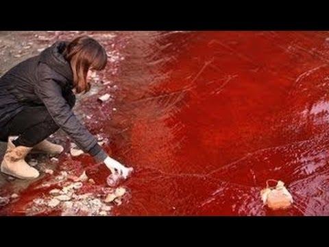 World WATERS TURN BLOOD Apocalypse -