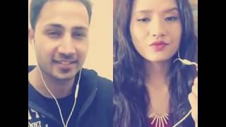 Seene mein Dil dil mein Dhadkan cover by Madan Sangroula And Anu Gurung