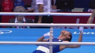 Nyambayar (MGL) v Carrazana (CUB) -- Boxing Fly (52kg) Final - London 2012 Olympics