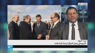 ما الهدف من زيارة السويحلي إلى الجزائر؟