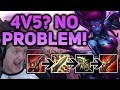 Download Lagu 4v5? NO PROBLEM!! IS THIS BUILD EVEN TROLL? 100% CRIT EVELYNN JUNGLE  - Patch 7.12