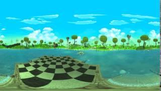 Alice in Wonderland Stories: Crazy Clockwork. 360° teaser. Team-based VR adventure