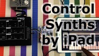 Control Moog Werkstatt By IPad : Audio Controlled Sequencer Demo 2