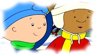 Funny Animated Cartoon Caillou | Holiday Fun | Animated Funny Cartoons for Children