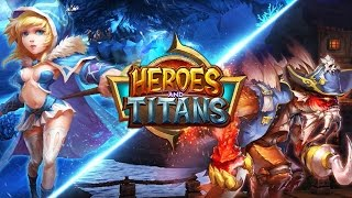 Heroes and Titans 3D Gameplay IOS / Android