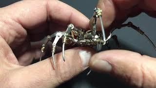 Spider steampunk