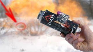 Experiment : Firecracker Vs Gas