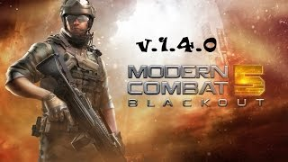 Modern Combat 5 v1.4.0 install in SD card review(xperia m)