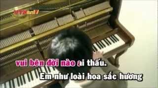 karaoke HD tầm gửi hoàng lê vy