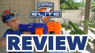 NERF N-Strike Surgefire Elite REVIEW - 👍👍👍👍👎(4 out of 5 thumbs up)