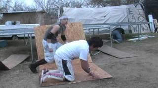ESW backyard wrestling - 6-pack Challenge (Anarchy championship match)