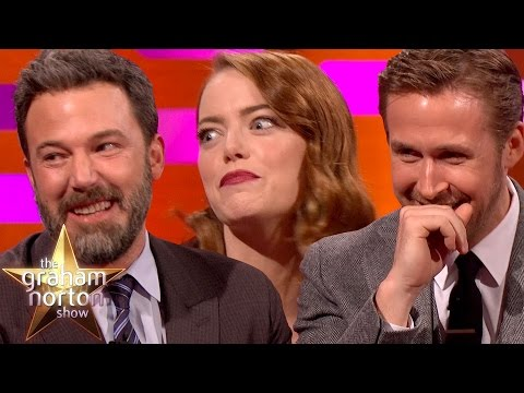 Ryan Gosling Emma Stone & Ben Affleck Tell Embarrassing Mum Stories The Graham Norton Show