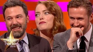 Ryan Gosling, Emma Stone & Ben Affleck Tell Embarrassing Mum Stories - The Graham Norton Show