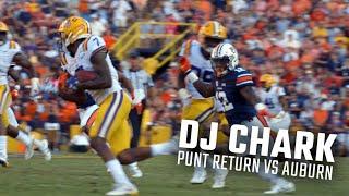 D.J. Chark returns punt 75 yards for a touchdown against Auburn