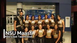 NSU Maasti at NSU's Got Talent 2016 - First Place