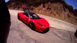 RidingWithTom Takes On The Snake! Mulholland Drive Action!