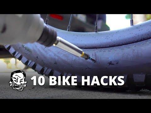 10 Hacks for Mountain Biking and Beyond