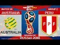 Australia vs Peru ⚽️ 🔴 | FIFA World Cup Russia 2018 | Match 38 | 26/06/2018
