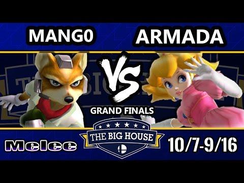 watch TBH6 SSBM - C9   Mango (Fox) Vs. [A]rmada (Peach) - Smash Melee Grand Finals