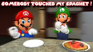 SOMEBODY TOUCHED MARIO