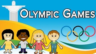 Olympic Games For Kids | List Of Olympic Games 2016 | Rio 2016