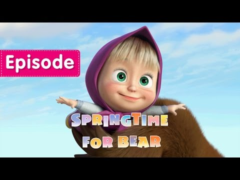 Masha and The Bear - Springtime for Bear (Episode 7)