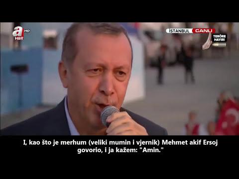 Dova predsjednika Republike Turske, Redžep Tajip Erdogana!