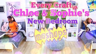 Mash Ups 100th Episode: Every Craft in Sophie and Chloe's New Bedroom