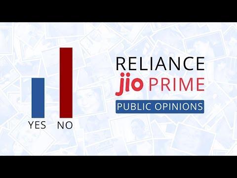 Reliance Jio prime offer: Public Opinions [Hindi-हिन्दी]
