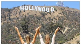 How to get close to the Hollywood Sign   Teagan & Sam   The Rybka Twins