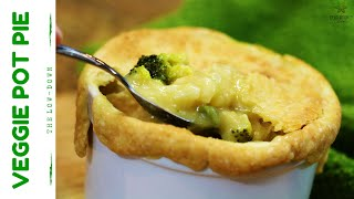 Yummy Veggie Pot Pie   Vegan Recipe
