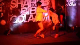 Shaheb Bibi Golam - Hot swastika Dance promotion