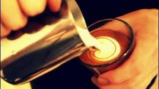 4.5oz Gibraltar glass latte art(Tulip) 2012/05/06