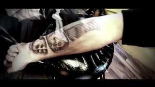 Ultimate Guitar Tattoo HD Video - Tattoo Artist B.Behrens