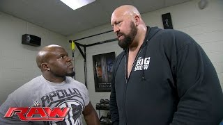 Big Show gives Apollo Crews some veteran advice: Raw, May 30, 2016