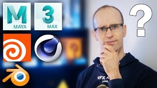 What is the BEST 3D Software? Maya vs 3dsMax vs Cinema 4D vs Houdini vs Blender