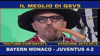 QSVS - BAYERN MONACO - JUVENTUS 4-2 - JUVE FUORI DALLA CHAMPIONS - TELELOMBARDIA / TOP CALCIO 24