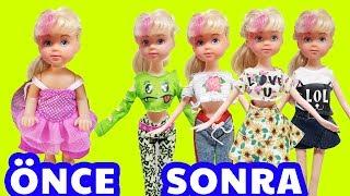 Eski Oyuncak Bebekleri Barbie Yapıyorum | Oyuncak Yap | Oyuncak Butiğim
