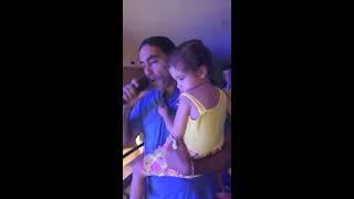 Daniel Agostini  - en vivo - Con mi hija Camila - Parrilla Humberto