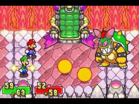 Mario & Luigi Superstar Saga Final Boss Bowletta Cackletta Soul NO DAMAGE