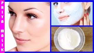 Get Instant Glowing Skin in 15 minutes || Homemade Skin Whitening Face pack