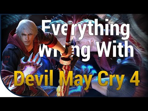 Xxx Mp4 GAME SINS Everything Wrong With Devil May Cry 4 3gp Sex